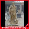 Scultura di marmo di scultura di pietra classica intagliata mano