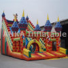 Corrediça inflável emocionante gigante do castelo do preço de fábrica para o divertimento