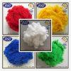 Regenerada Colored poliéster PSF fibra de grampo para Interior Automotive Uso