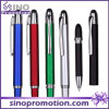 Ballpoint 1개의 다중 Function Pen Rubber TIP Touch Pen에 대하여 2