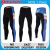 Poliéster Spandex Cycling Shorts, Pants com Padding