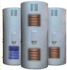 Calefator solar com cambista de calor, tanque da bobina, bobina do esmalte, cambista de calor