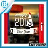 Etiqueta engomada del arte de la Feliz Año Nuevo de la Feliz Navidad de la ventana
