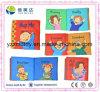 Livre anglais d'Educatinal de bébé de livre de tissu d'identification de relation de famille