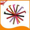 Bandes polychromes en plastique de bracelet de bracelets d'identification d'impression de divertissement (E8070-43)
