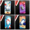 Diseños impresos historieta del modelo con la caja del teléfono del animal doméstico para el iPhone 8