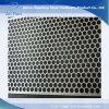 feuille perforée de trou rond d'acier inoxydable de 10 millimètres