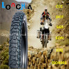 Tubo elevado do pneumático da motocicleta da borracha natural dos por cento (3.00-18, 3.00-17, 3.50-18)