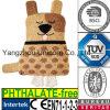 Couverture chaude de bouteille d'eau de jouet de la CE de Knit animal de crabot