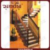 Residencial madera sólida escalera (DMS-S1018)
