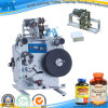 Round semiautomático Bottle Glue Labeling Machine para Flaxseed Oil (GH-Y100)