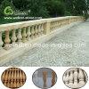 Qualitäts-neuer Entwurfs-beige Sandstein abgezogener EndeBaluster