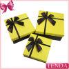 Boîte de cadeau lumineuse amicale de vente en gros de papier cartonné de lustre d'Eco