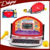 أطفال العربية و [إنغليش] يعلم الحاسوب المحمول آلة مع فأرة وميكروفون