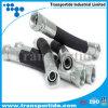 Qualitäts-Stahldraht-umsponnener hydraulischer Gummischlauch (1SN 2SN R1 R2)