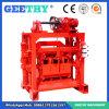 Qtj4-40Aの小さいセメントの空の煉瓦作成機械