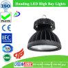 Luz industrial pendiente de las lámparas LED y alta luz de la bahía