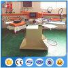 4 Farben-runde Form-automatische Kennsatz-Silk Bildschirm-Drucken-Maschine