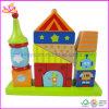 Brinquedo de empilhamento educacional de madeira dos blocos (W13D048)