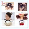 Form-Blumen-Perlen-Farbband-Frauen-Haar-Zubehör