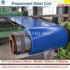 Dx51d гальванизировало стальную катушку PPGI низкопробного цвета покрынную стальную