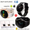Unisex de moda reloj teléfono inteligente con ranura para tarjeta SIM (K88S)