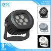 Luz del punto del módulo Single/RGB LED de la aislamiento de la luz de inundación del LED con 12/24VDC 85-265VDC para DMX512