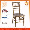 Cadeira de Chiavari da resina do ouro para o casamento