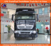 頑丈な10 Wheel Rhd Sinotruk HOWO Tractor Head 420HP