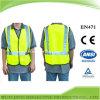 Alta Visibilidad ANSI Clase 2 Seguridad Vial Chaleco reflectante