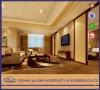 Os chineses luxuosos modernos da madeira contínua projetam o armário real dourado novo da tevê Stand/TV da sala de visitas