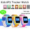 GPS van het Scherm van de aanraking het Horloge van Jonge geitjes met het Dubbele Plaatsen Lbs+GPS (Y5)