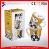 Lovely Dog Designs en V Shape Ceramic Mug