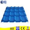 Azulejos de azotea de acero acanalados del color azul