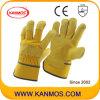 Теплые Корова кожа с промышленной безопасности Рабочие перчатки ( 12003 )null