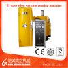 Machine de métallisation sous vide d'évaporation de résistance pour le plastique/glace/métal