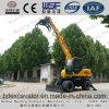 Petites excavatrices de chargeurs de roue de Shandong avec l'encavateur