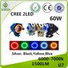 크리 사람 U7 60W LED 기관자전차 LED 헤드라이트