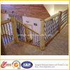 Escalier en bois d'acier inoxydable de qualité