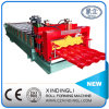 Steel coloré Glazed Tile Roof Panel Roll Forming Machine à vendre