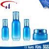 Blauer Farben-heißer Verkaufs-Glaskosmetik-Lotion-Flasche (CHR8028)