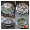 Fregaderos del mosaico/lavabo de colada de piedra de mármol