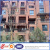 Barrière moderne durable décorative de fer travaillé (dhfence-12)