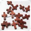 Jouet en bois à extrémité élevé, roods en bois décoratifs, croix en bois fabriquée à la main (IO-cw022)