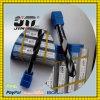 Hohe Percision 2 Flöte-fester Hartmetallbohrer-Bit-Stahl