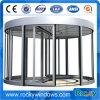 Porta de vidro revolvendo manual ou automática rochosa
