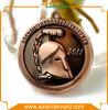 Médaille personnalisée de souvenir avec la bande