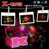 Mini rouge et vert et violet Cinq graphiques de lumière laser