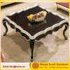 Table basse antique en bois de meubles de salle de séjour pour la villa d'hôtel