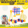 Игрушка крана для транспортирования болванки цепи выдвижения ребенка блоков силы шестерен мастеров Thinkertoy всеобщая